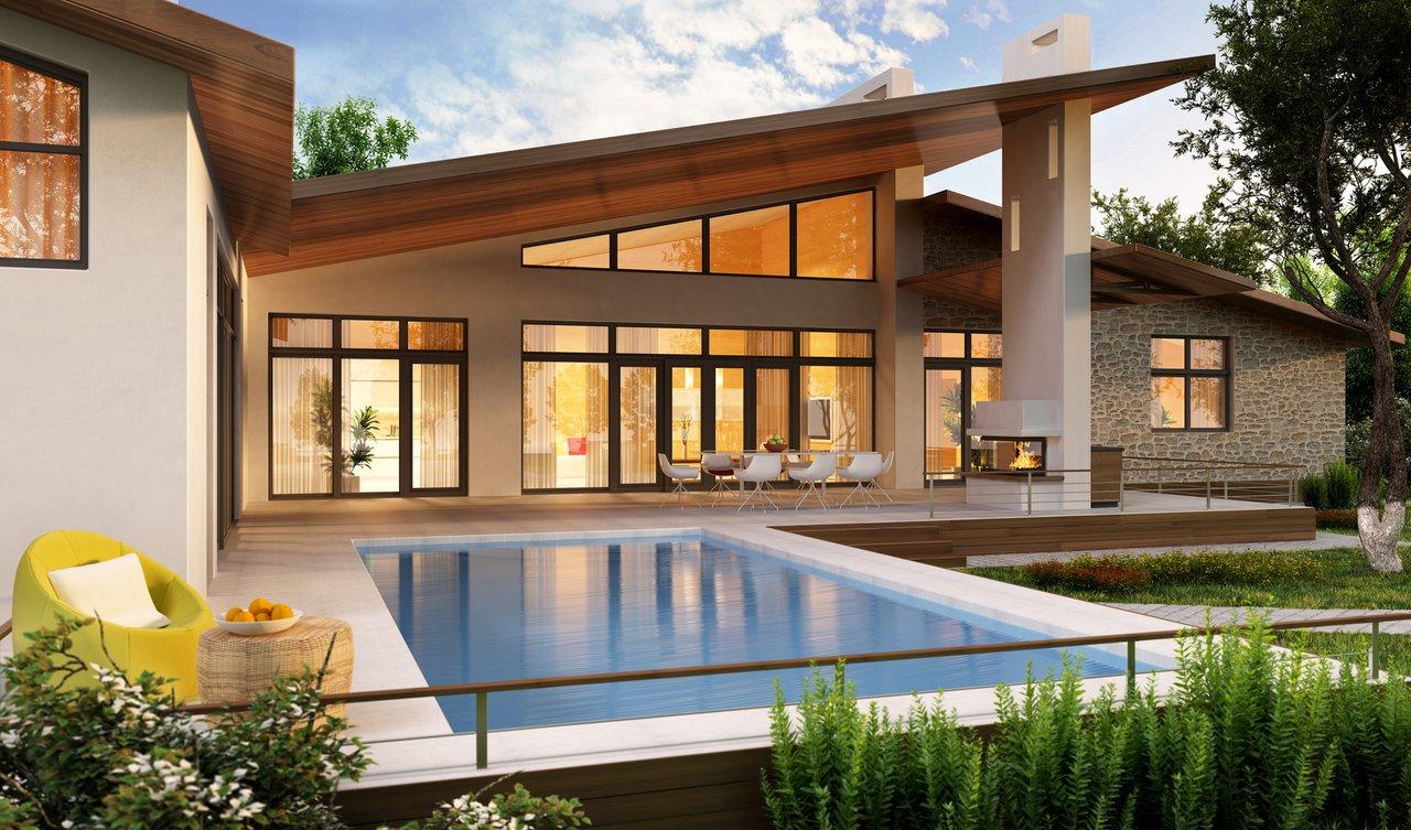 Fassadengestaltung holzoptik  Fenster - viele Varianten für die Fassadengestaltung ...